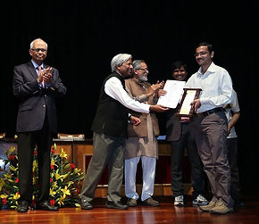 Amit A. Vernekar wins the GYTI Award
