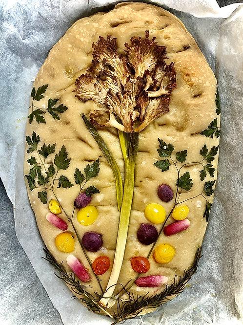 Bloom & Wild Mushroom Hydrangea