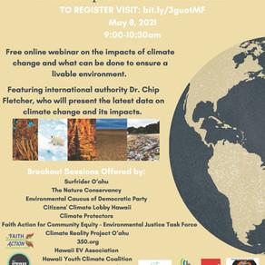 Faith Action Presents Free Climate Change Webinar