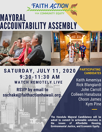 Mayoral Accountability Assembly Flyer us