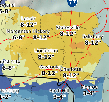 Rowan County Prepares for a Winter Storm