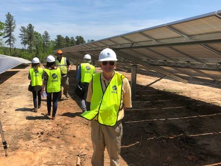 Ken Clifton KJ4HF Returns for Talk on Solar Energy
