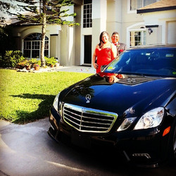 Instagram - Happy #prom couple using #towncarnow #Mercedes #limoservice in #Orla