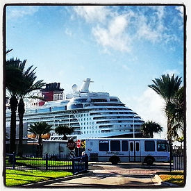 Disney Cruise Ship Shuttle Transportation