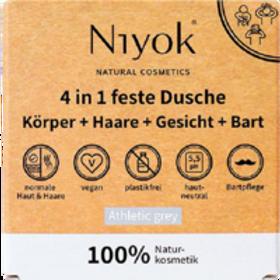 Niyok 4in1 DuscheKörperHaareGesichtBart