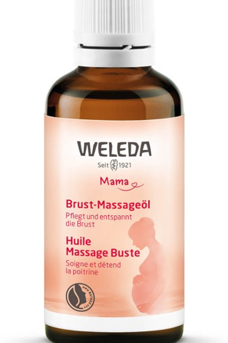 Olio da massaggio (seno) Weleda
