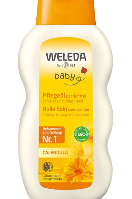 Olio curativo alla calendula (senza profumo) Weleda