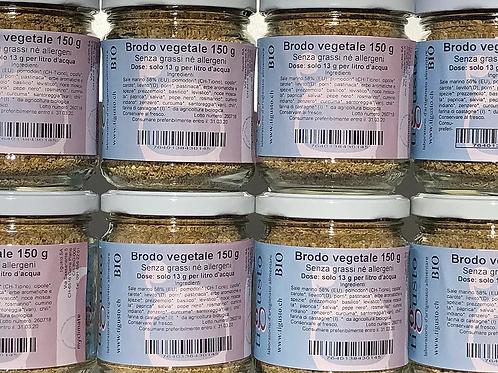 Brodo vegetale granulato