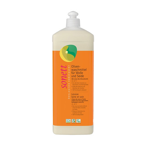 Sonett: detersivo lana / seta all'oliva - 1 L