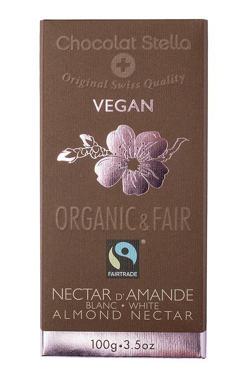 Cioccolato alle mandorle bianche, Organic & Fair - Chocolat Stella