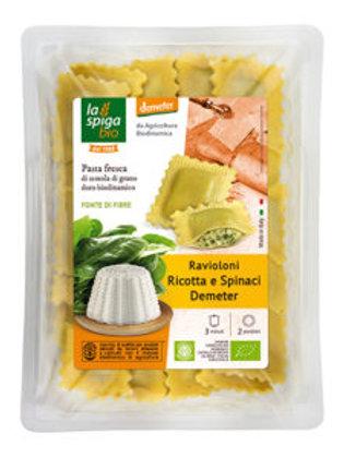 Ravioli ricotta e spinaci Demeter - 250g