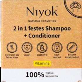 Shampo&balsamo solido Niyok Vitamina festes Shamp&Conditioner