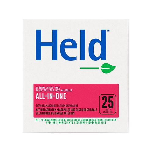 Held: pastiglie per lavastoviglie al limone (all-in-one)