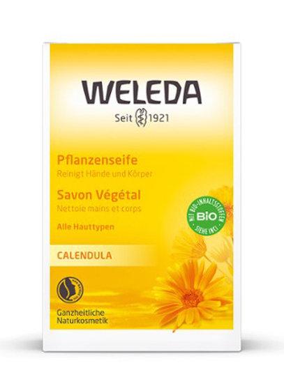 Sapone vegetale alla calendula Weleda
