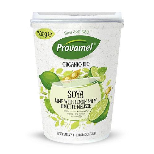Jogurt di soja lime melissa - Provamel Bio Soya Limette-Melisse
