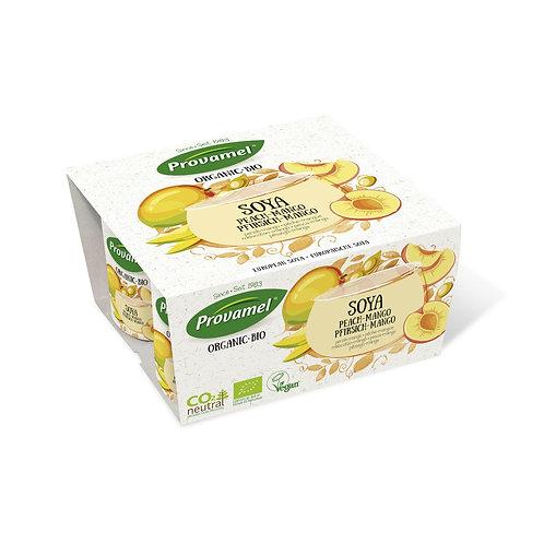 Jogurt di soja mango pesca - Provamel Bio Soya Pfirsich-Mango