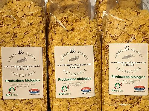 Flakes di mais bio del Ticino