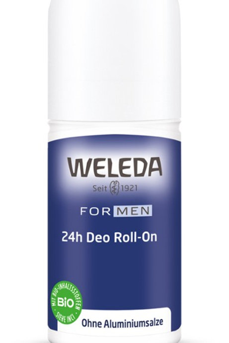 Deodorante Roll-On 24h uomo Weleda