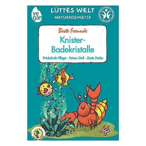 "Schiuma cristalli da bagno - Lüttes Welt Knister-Badekristalle ""Beste Freunde"""
