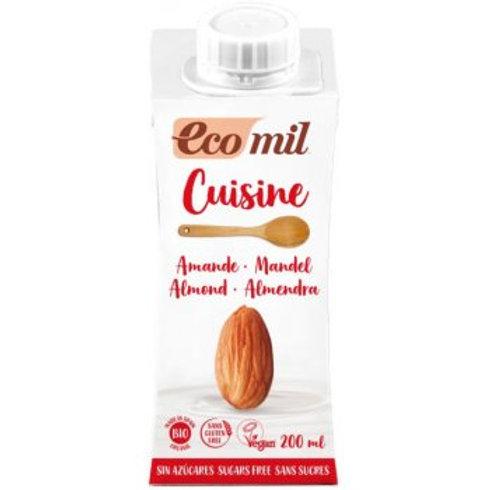 EcoMil Hafer Cuisine ohne Zuckerzusatz