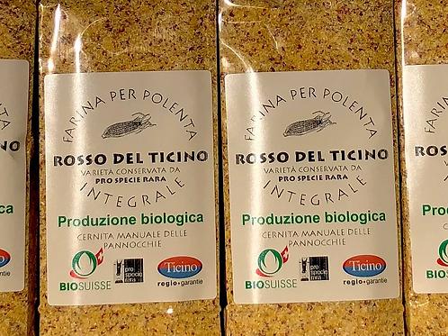 Farina di mais rosso del Ticino