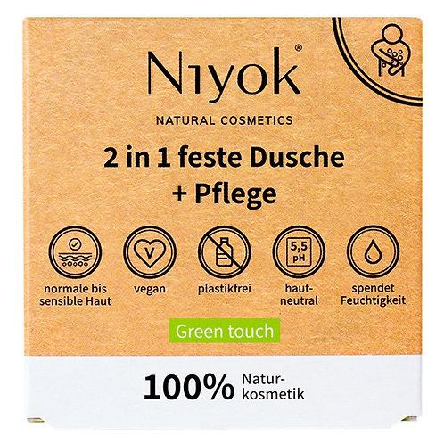 Douche solido Niyok GreenTouch 2in1 feste Dusche&Pflege