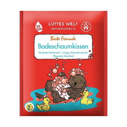 """Schiuma da bagno colorata - Lüttes Welt Badeschaumkissen """"Beste Freunde"""""""