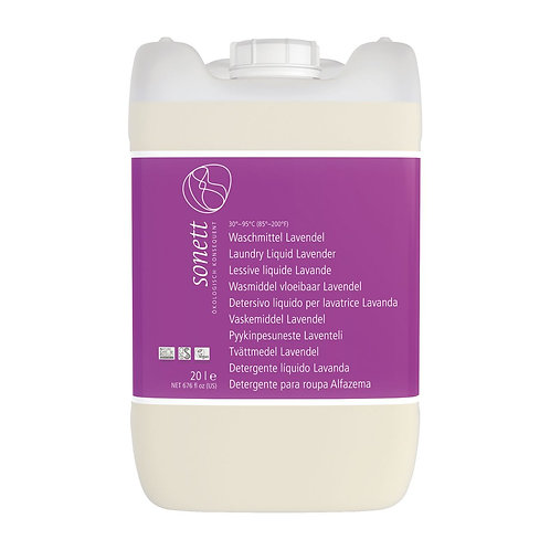 Sonett: detersivo liquido 30°-95°C alla lavanda - 20 L