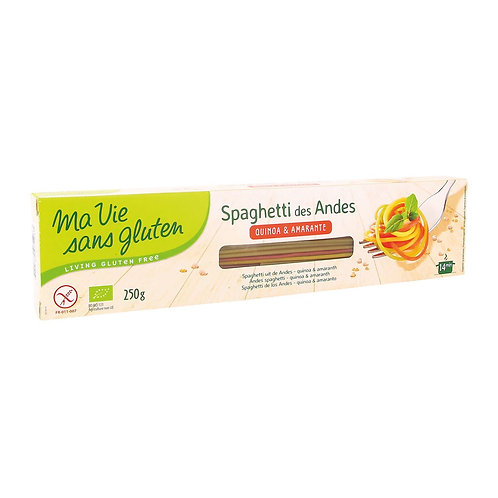 Ma vie sans Gluten: spaghetti tricolore (senza glutine)