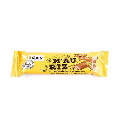 Claro Fair Trade: barretta M'au Riz cioccolato e cereali