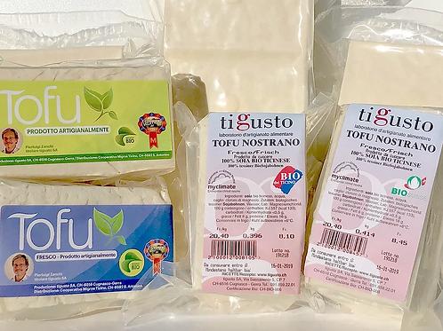 Tofu di soia bio 100% ticinese