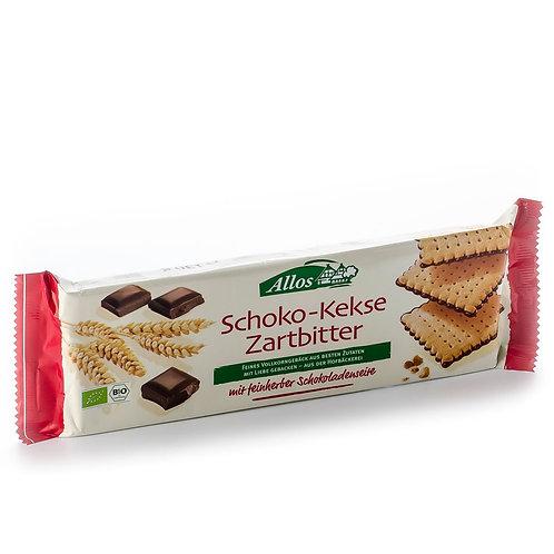 Allos Bio: biscotti al cioccolato fondente