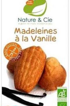 Nature et Cie Bio: madeleines alla vaniglia (senza glutine)