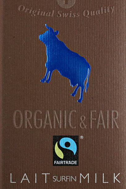 Cioccolato al latte, Organic & Fair - Chocolat Stella