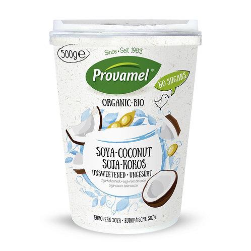 Jogurt di Cocco e soja  senza zucchero Provamel Bio Soya Soja-Kokos