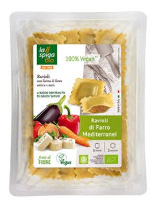 Ravioli di farro verdura e tofu - 250g