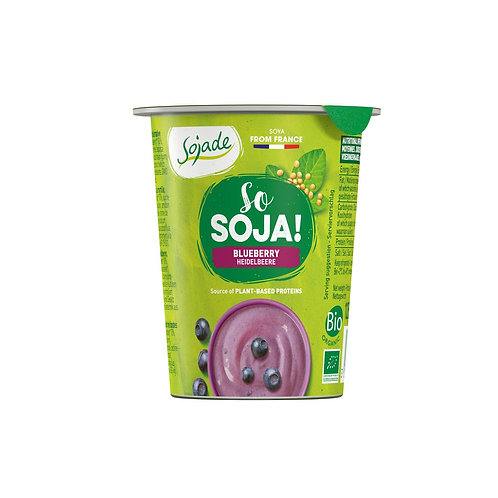 So Soya! Jogurt di soia ai mirtilli
