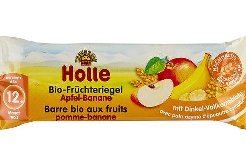 Holle Bio-Früchteriegel Apfel-Banane