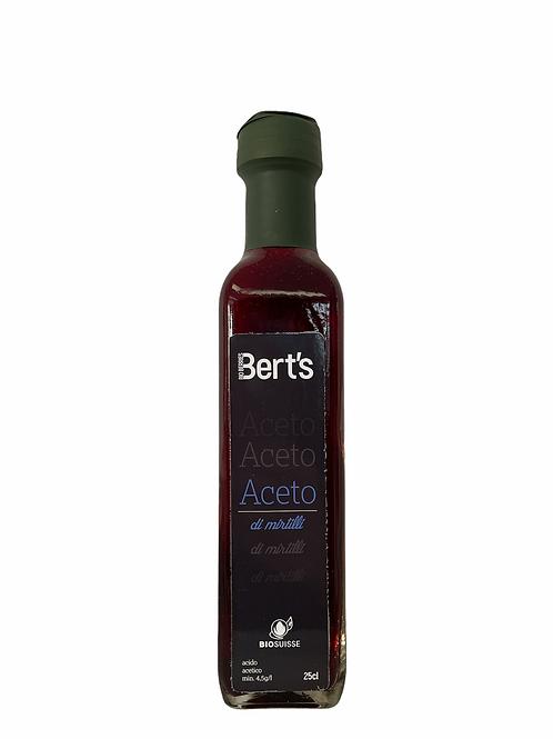 Aceto di mirtilli - Bert's