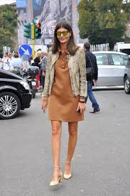 Giovanna Battaglia on the Streets of Milan