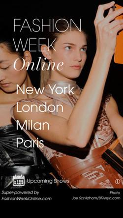 שבוע האופנה בניו יורק סתיו/חורף 2015
