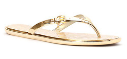 womens michael michael-kors emory flip flop gold.jpg