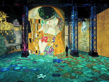 המוזיאון הדיגיטלי הראשון מסוגו בעולם, צרפת – התערוכה gustav-klimt