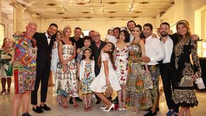 """תצוגת """"אלטה מודה"""" לעונת קוטור קיץ 2016 של בית האופנה דולצ'ה וגבאנה-אורחת הכבוד סופיה לורן"""