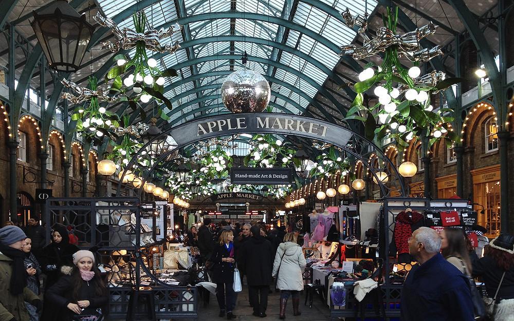 Covent Garden Apple Market
