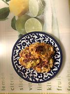 קציצות עוף עם ירקות אפויות בתנור