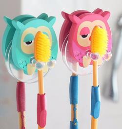 מתקן למברשת שיניים לילדים