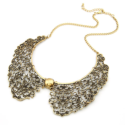 Gorgeous Vintage Collar Necklace.jpg
