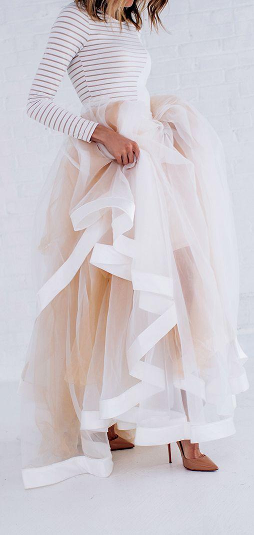 שמלות כלה בשני חלקים