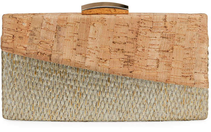 Cork Minaudiere Bag